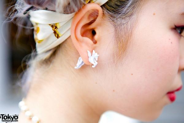 Bonjour Girl Earrings