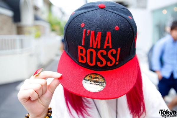 I'm a Boss Cap