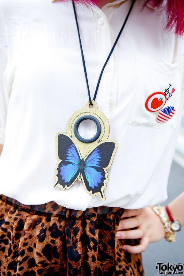 Homeless Hong Kong necklace