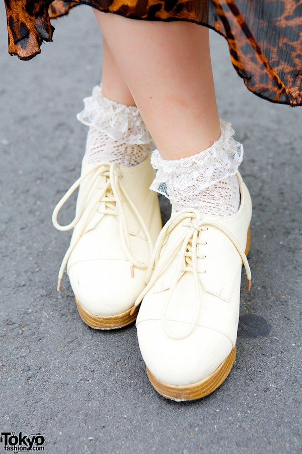 Wooden Sole Shoes