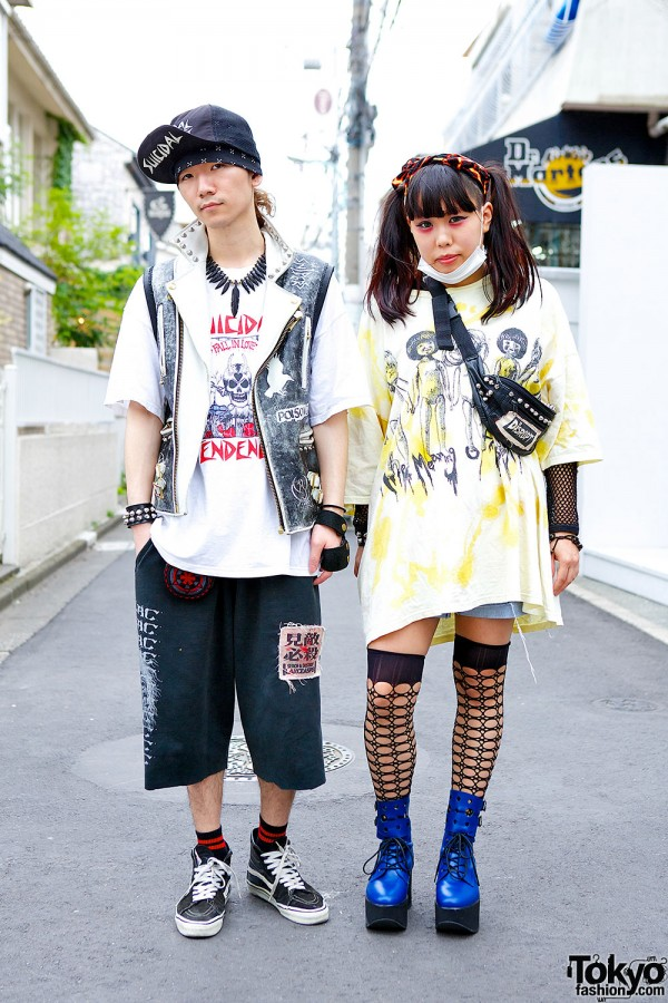 Punk-Inspired Harajuku Styles w/ Suicidal Tendencies, Blackmeans & Disrupt