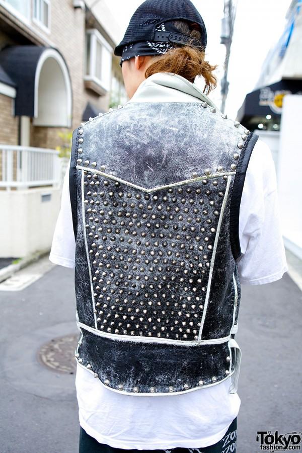 Studded Blackmeans vest
