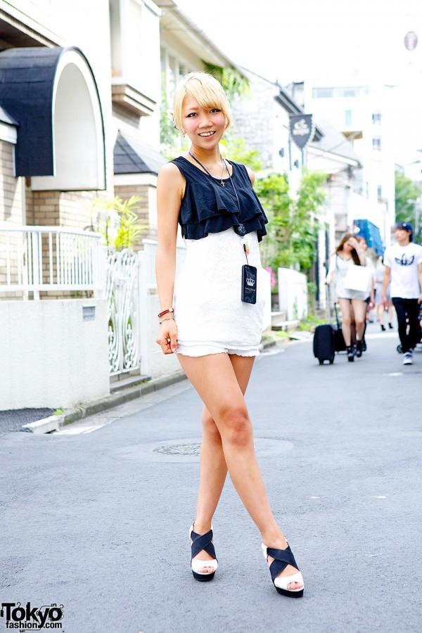 Momo Harajuku Shorts & Top