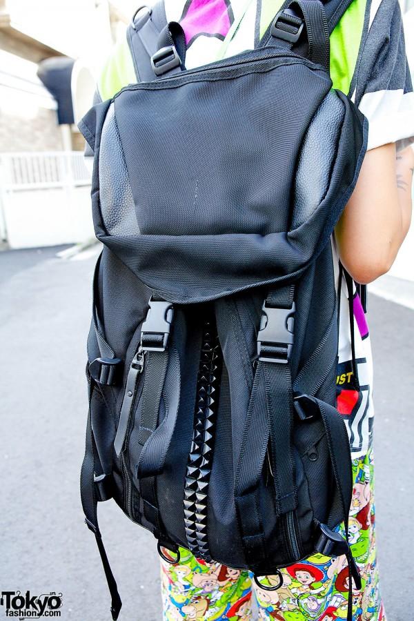 HiLDK Studded Backpack