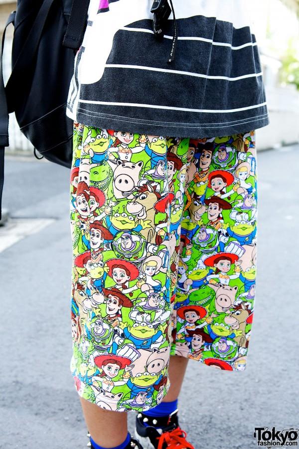 Disney Cartoons Pants