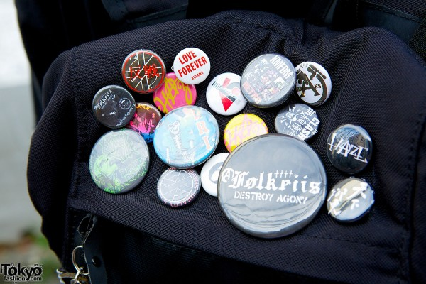 Metal Bands Pins