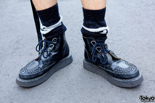 Lace-up Creeper Boots