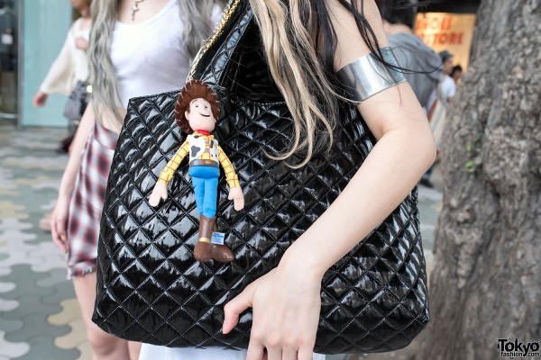 Quilted Purse & Toy Story Charm