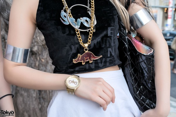 GIZA Dinosaur Necklace & Arm Bands