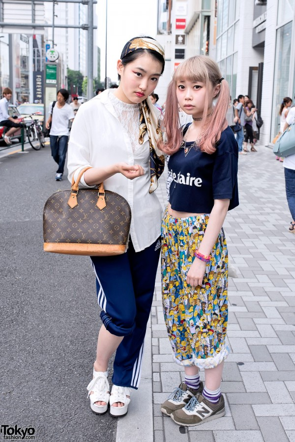 Twin Tails, Crop Top, The Simpsons & Resale Fashion in Harajuku