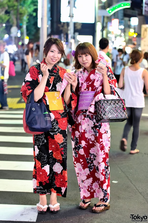 Yukata in Harajuku (1)