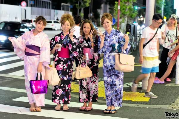 Yukata in Harajuku (5)