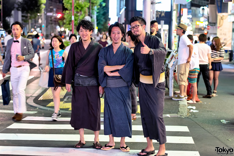 Yukata Pictures – Jingu Gaien Fireworks x Harajuku Yukata in
