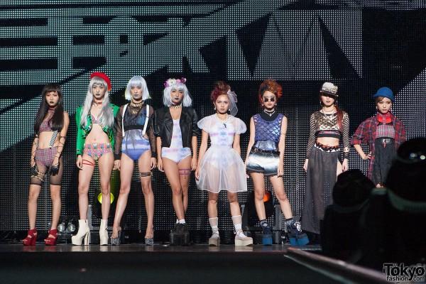 Marble Wonderland Tokyo Fashion Show