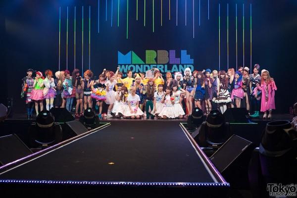 Marble Wonderland Tokyo Fashion Show Finale