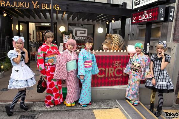 Kumamiki x Putumayo at The Circus Harajuku