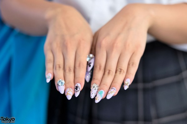 Japanese Gyaru Nail Art