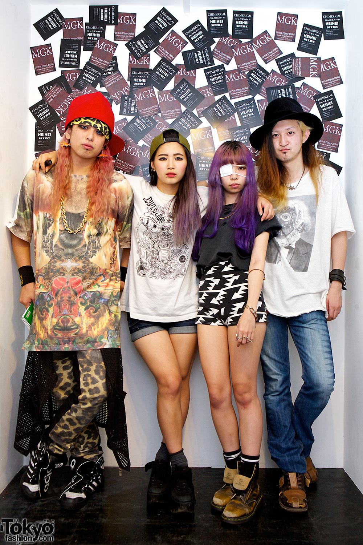 MGK Harajuku Fashion Exhibition