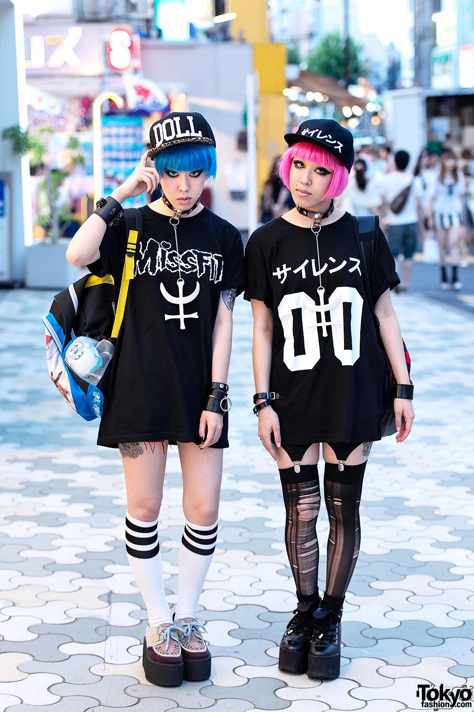 Miho Maho W Pink Blue Hair Nikki Lipstick Revolution Tomorrow Pokemon In Harajuku