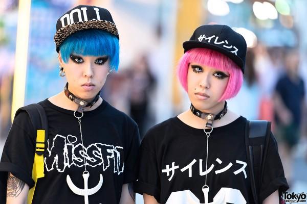 Miho & Maho in Harajuku