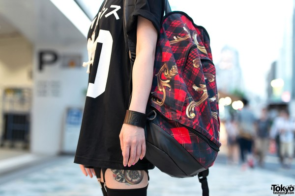 KTZ Backpack & Tattoos in Harajuku