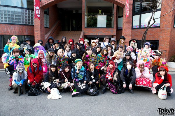 Harajuku Fashion Walk on Cat Street