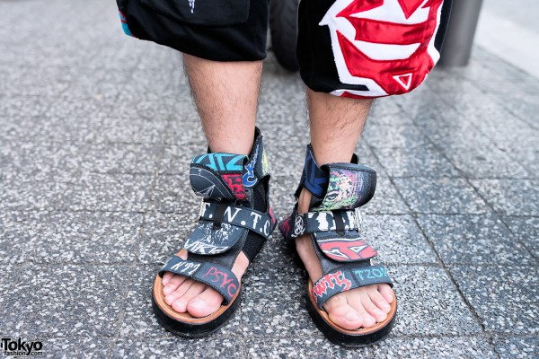 KTZ Sandals & Shorts