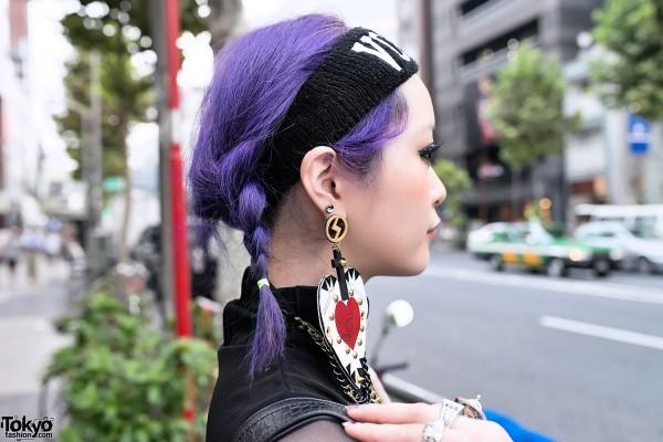 MYOB Heart Earrings