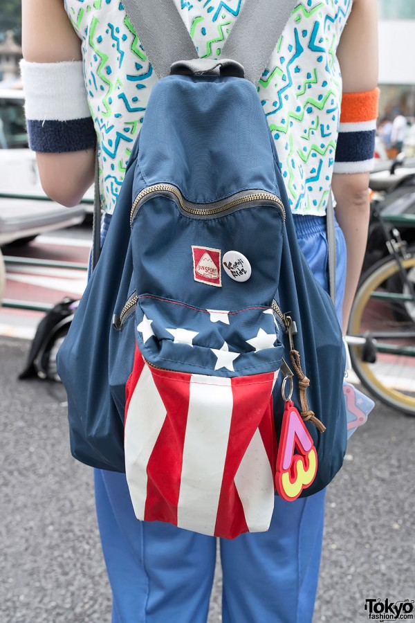 Koenji Kids Pin & Flag Backpack