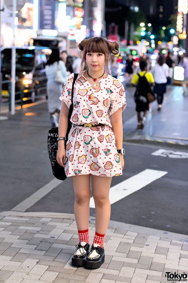 Kawaii Spank Dress in Harajuku