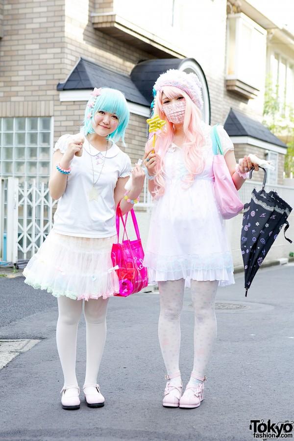 Fairy Kei Girls in Harajuku