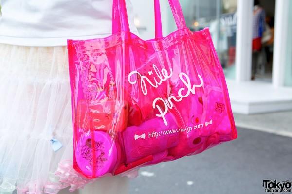 Nile Perch Transparent Bag