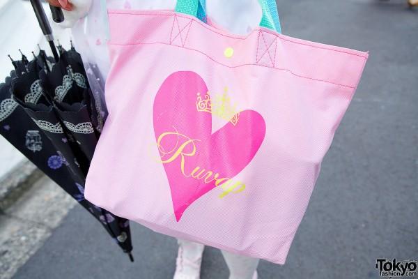 Ruvap Heart Bag in Harajuku