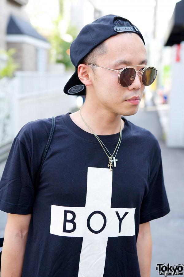 Boy London & Round Sunglasses