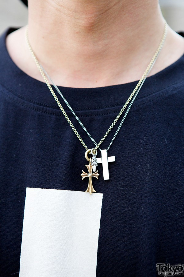 Silver Cross Necklaces