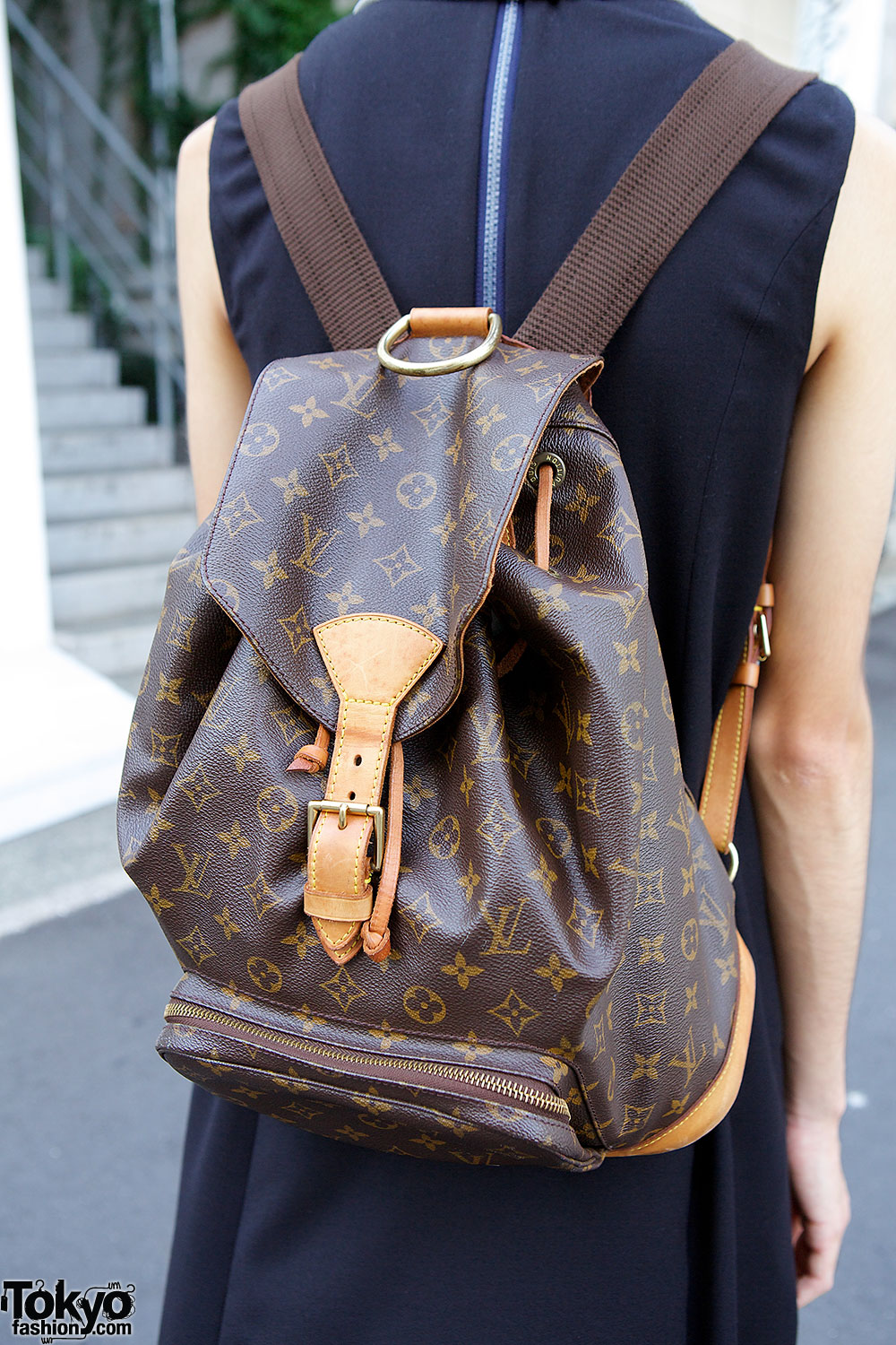 louis vuitton leather backpack � tokyo fashion news