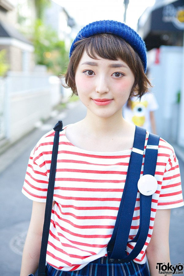 Stripes & Suspenders in Harajuku