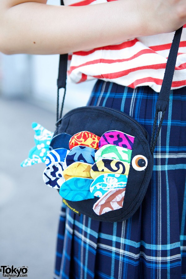 Cute Fish Purse in Harajuku