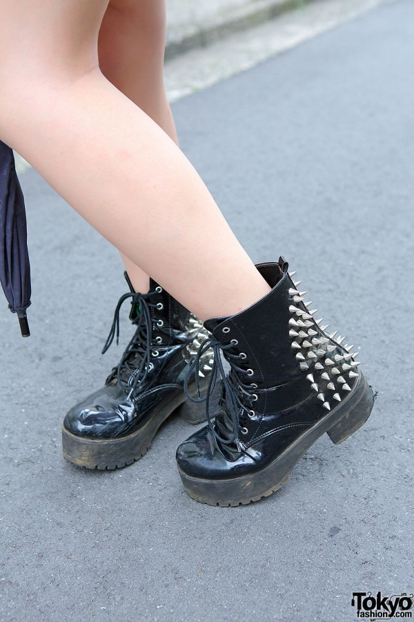 Gal Star Spike Boots