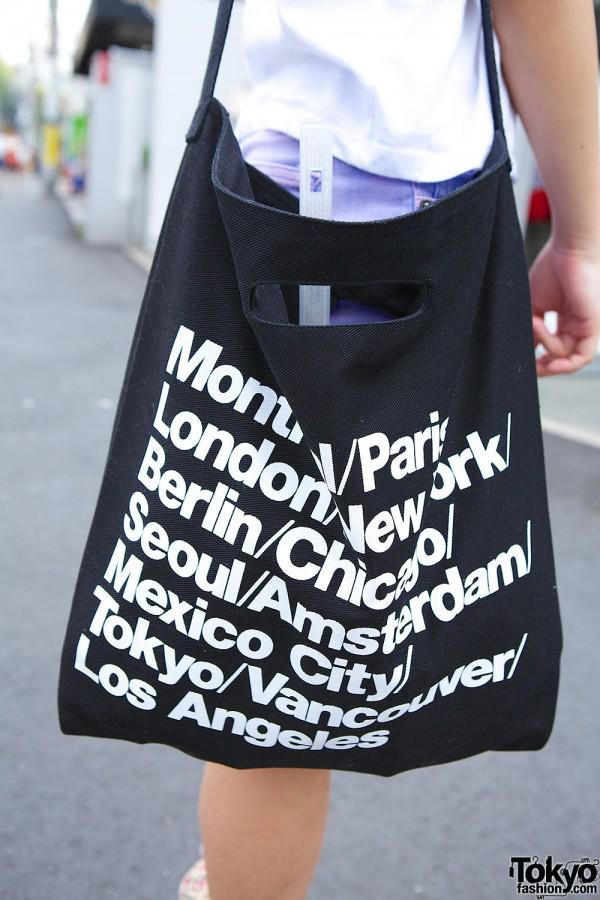 cea3997c7bda American Apparel Tote Bag – Tokyo Fashion News