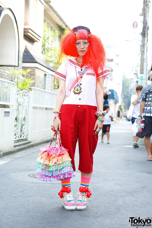Neb aaran Do Sailor Top in Harajuku