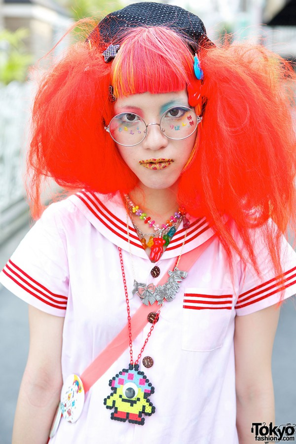 Sailor Top & Orange Hair