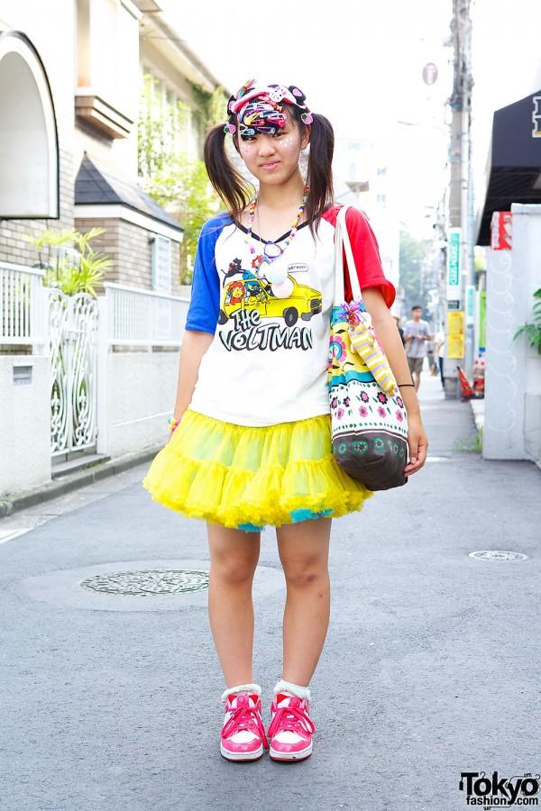 Harajuku Decora in Yellow Tutu