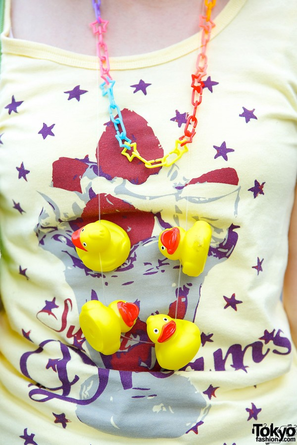 Rubber Duckies Necklace