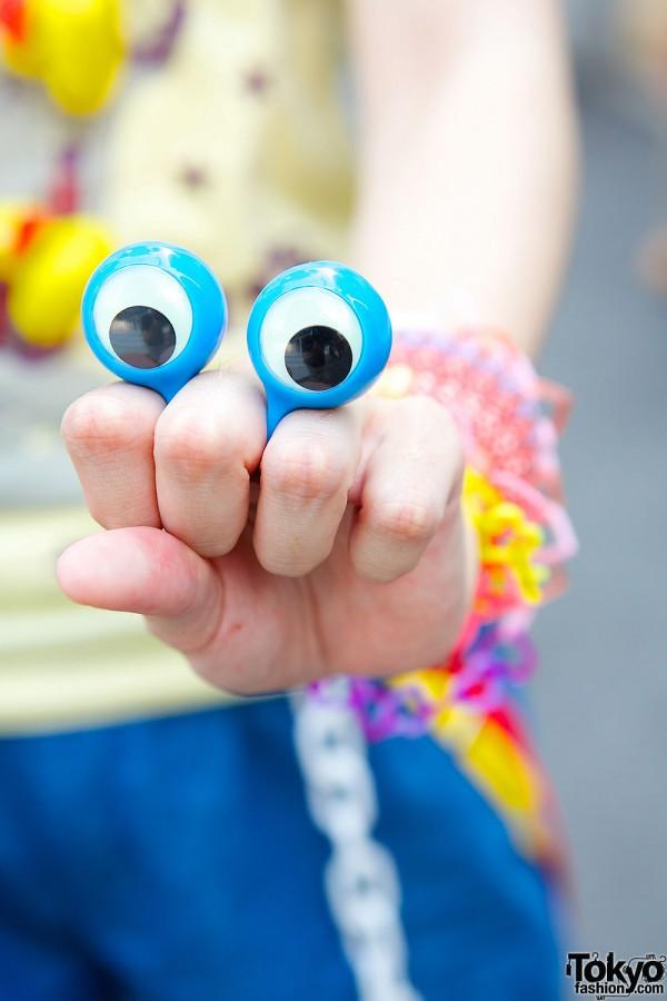 Googly Eyes Ring