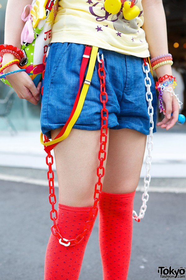 Shorts, Suspenders & Chains
