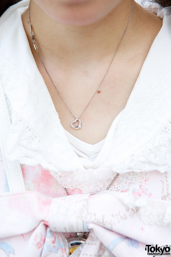 Delicate Lolita Necklace in Harajuku