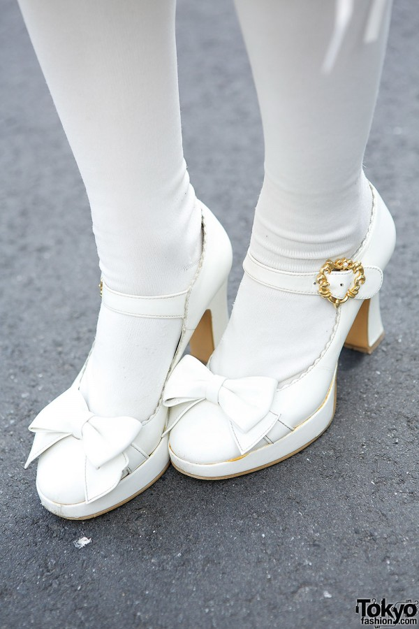 Sweet Lolita Bow Shoes