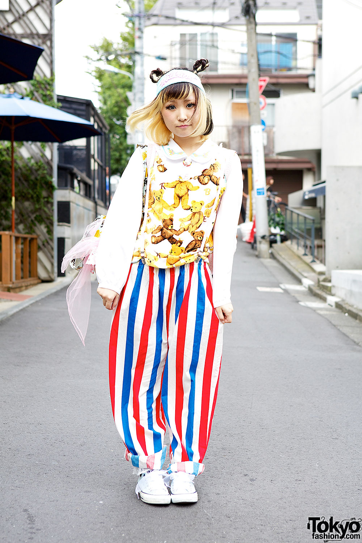 Kawaii Harajuku Fashion w/ Teddy Bears