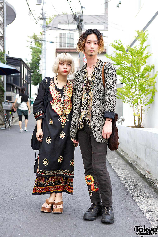Harajuku Ethnic Fashion